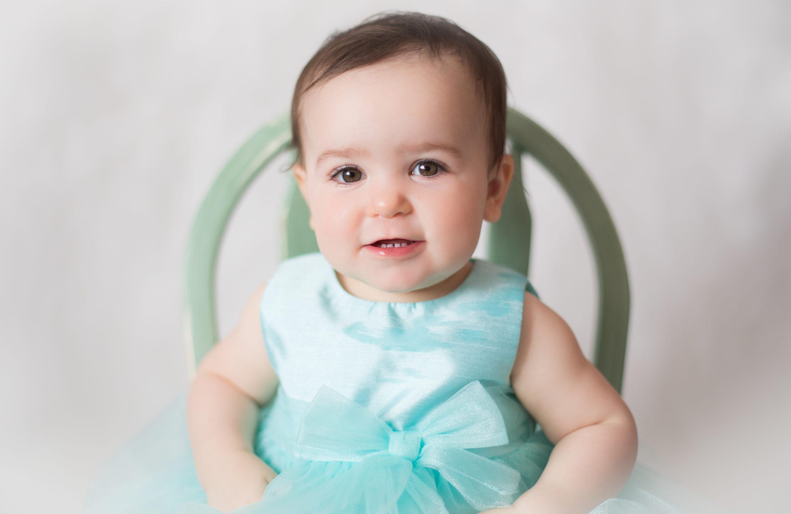 beautiful birthday girl portrait