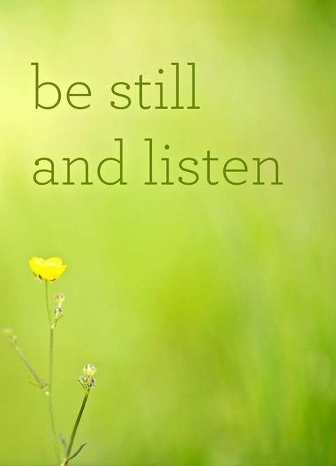 be still quote