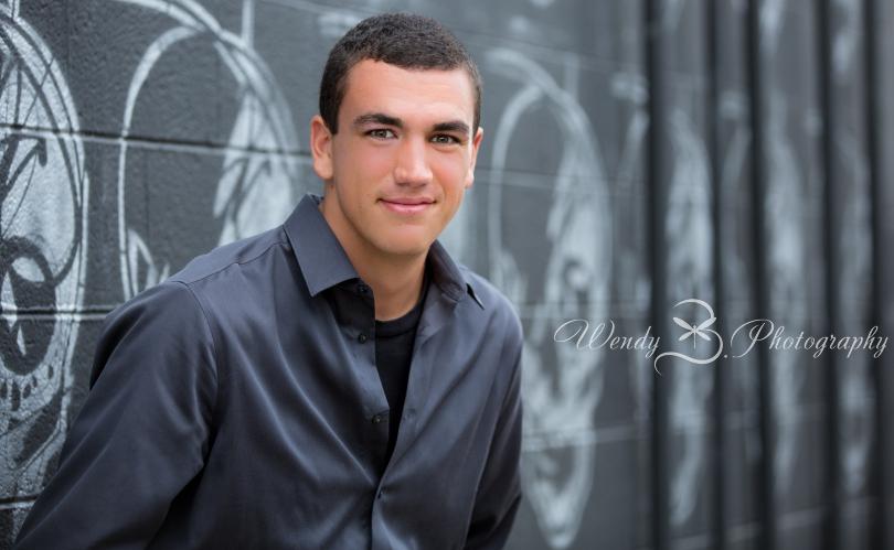 GQ male senior portraits