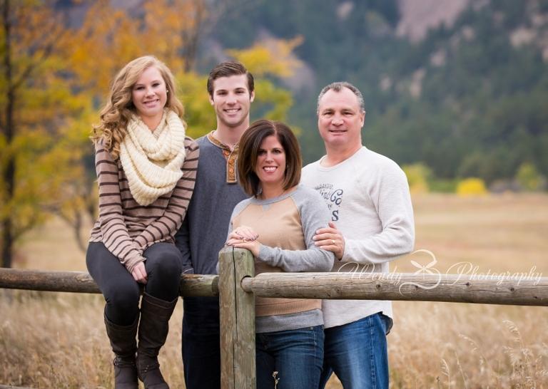 Chitauqua Boulder Family Picture