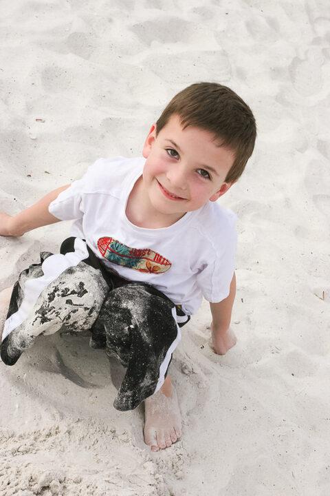 ocean child portraits
