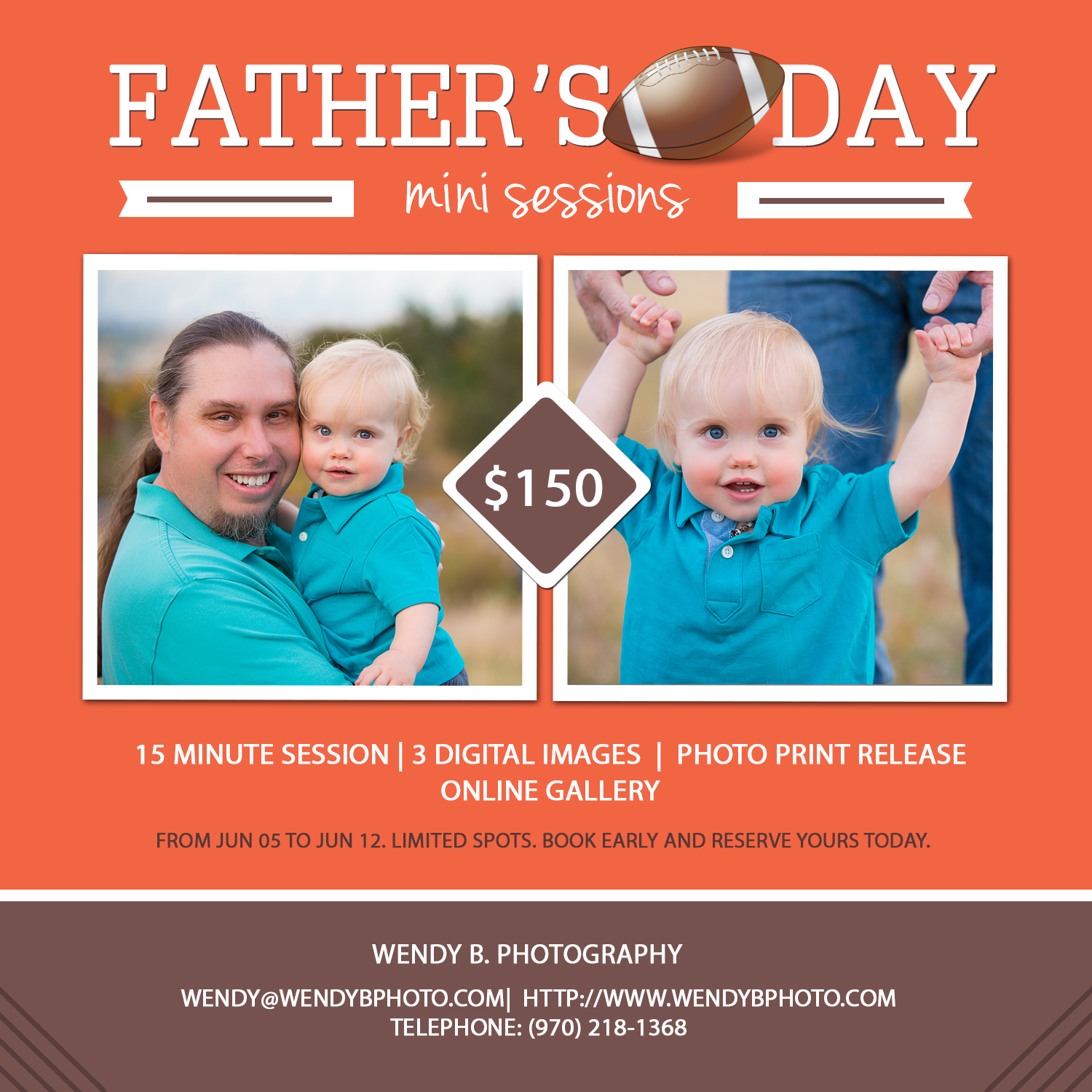 fathers day mini photo sessions